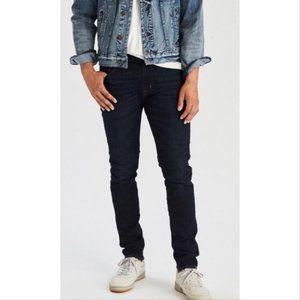 American Eagle Slim Extreme Flex 4 Black Jeans